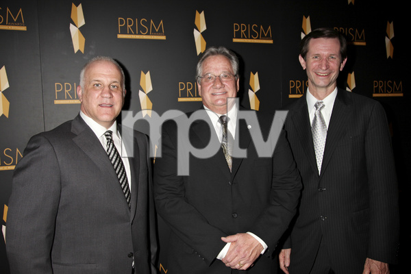 """""""15th Annual PRISM Awards"""" Chuck Saftler, Brian Dyak, Rick Stephens4-28-2011 / Beverly Hills Hotel / Beverly Hills CA / Photo by Imeh Akpanudosen - Image 24058_0193"""