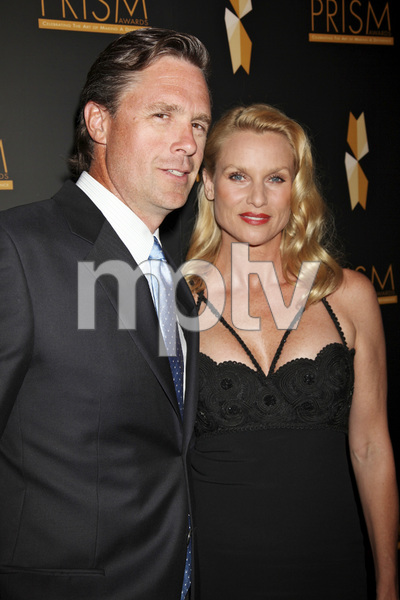 """""""15th Annual PRISM Awards"""" Steve Pate, Nicollette Sheridan4-28-2011 / Beverly Hills Hotel / Beverly Hills CA / Photo by Imeh Akpanudosen - Image 24058_0411"""