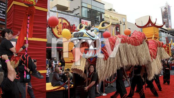 """""""Kung Fu Panda 2"""" Premiere5-22-2011 / Mann"""