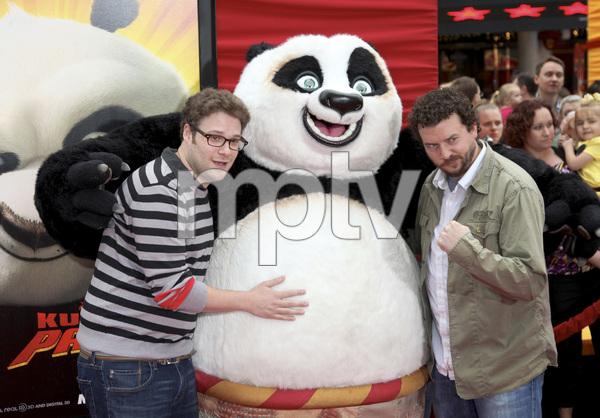 """Kung Fu Panda 2"" PremiereSeth Rogen, Danny McBride5-22-2011 / Mann"