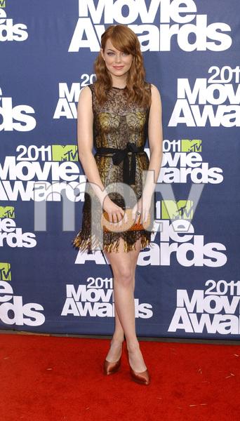 """""""MTV Movie Awards 2011""""Emma Stone6-5-2011 / Gibson Ampitheater / Hollywood CA / MTV / Photo by Gary Lewis - Image 24071_0097"""