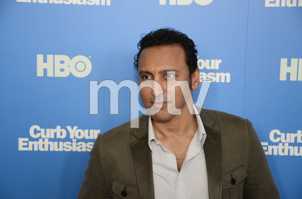 """Curb Your Enthusiasm"" PremiereAasif Mandvi7-6-2011 / Time Warner Screening Room / New York NY / HBO / Photo by Eric Reichbaum - Image 24075_0098"