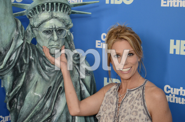 """""""Curb Your Enthusiasm"""" PremiereCheryl Hines7-6-2011 / Time Warner Screening Room / New York NY / HBO / Photo by Eric Reichbaum - Image 24075_0112"""