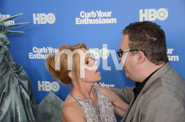 """""""Curb Your Enthusiasm"""" PremiereCheryl Hines, Jeff Garlin7-6-2011 / Time Warner Screening Room / New York NY / HBO / Photo by Eric Reichbaum - Image 24075_0113"""