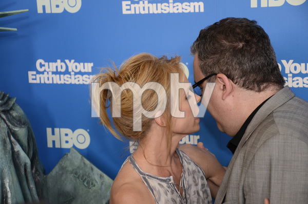 """""""Curb Your Enthusiasm"""" PremiereCheryl Hines, Jeff Garlin7-6-2011 / Time Warner Screening Room / New York NY / HBO / Photo by Eric Reichbaum - Image 24075_0114"""
