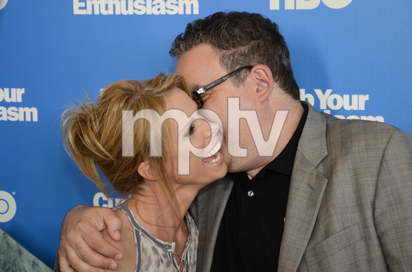 """""""Curb Your Enthusiasm"""" PremiereCheryl Hines, Jeff Garlin7-6-2011 / Time Warner Screening Room / New York NY / HBO / Photo by Eric Reichbaum - Image 24075_0116"""