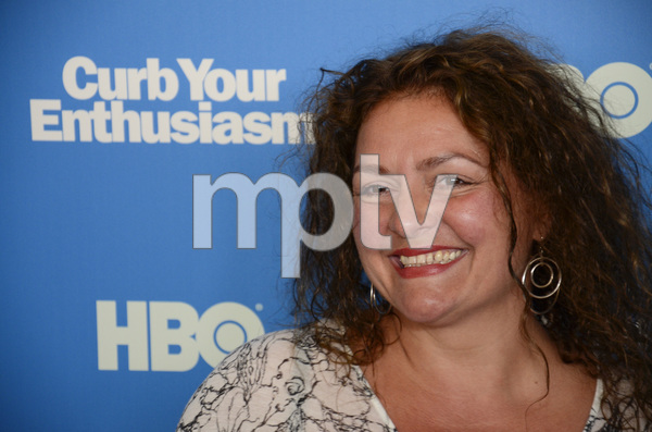 """""""Curb Your Enthusiasm"""" PremiereAida Turturro7-6-2011 / Time Warner Screening Room / New York NY / HBO / Photo by Eric Reichbaum - Image 24075_0122"""