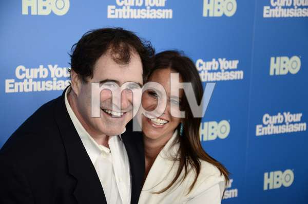 """""""Curb Your Enthusiasm"""" PremiereRichard Kind, Amy Landecker7-6-2011 / Time Warner Screening Room / New York NY / HBO / Photo by Eric Reichbaum - Image 24075_0125"""