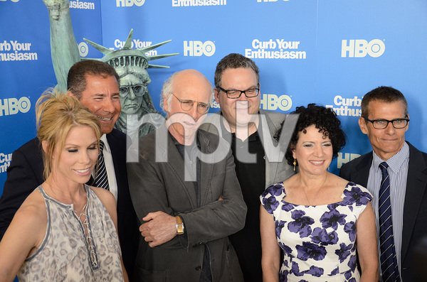 """Curb Your Enthusiasm"" PremiereCheryl Hines, Larry David, Jeff Garlin, Susie Essman7-6-2011 / Time Warner Screening Room / New York NY / HBO / Photo by Eric Reichbaum - Image 24075_0130"