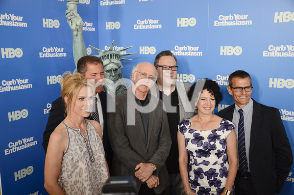 """Curb Your Enthusiasm"" PremiereCheryl Hines, Larry David, Jeff Garlin, Susie Essman7-6-2011 / Time Warner Screening Room / New York NY / HBO / Photo by Eric Reichbaum - Image 24075_0136"