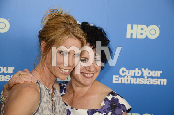 """""""Curb Your Enthusiasm"""" PremiereCheryl Hines, Susie Essman7-6-2011 / Time Warner Screening Room / New York NY / HBO / Photo by Eric Reichbaum - Image 24075_0137"""
