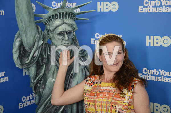 """""""Curb Your Enthusiasm"""" PremiereAnna Gasteyer7-6-2011 / Time Warner Screening Room / New York NY / HBO / Photo by Eric Reichbaum - Image 24075_0144"""