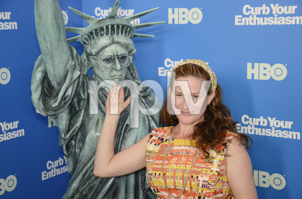 """""""Curb Your Enthusiasm"""" PremiereAnna Gasteyer7-6-2011 / Time Warner Screening Room / New York NY / HBO / Photo by Eric Reichbaum - Image 24075_0146"""