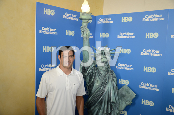 """""""Curb Your Enthusiasm"""" PremiereMark Sanchez7-6-2011 / Time Warner Screening Room / New York NY / HBO / Photo by Eric Reichbaum - Image 24075_0151"""