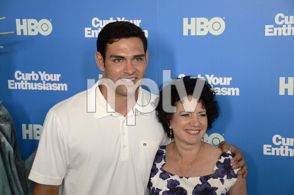 """Curb Your Enthusiasm"" PremiereMark Sanchez, Susie Essman7-6-2011 / Time Warner Screening Room / New York NY / HBO / Photo by Eric Reichbaum - Image 24075_0157"