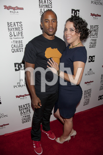 """""""Beats, Rhymes and Life: The Travels of A Tribe Called Quest"""" Premiere After Party Ali Shaheed Muhammad 6-24-2011 / Rolling Stone Restaurant and Lounge / Hollywood CA / Song Pictures Classics / Photo by Imeh Akpanudosen - Image 24078_0052"""