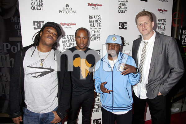 """Beats, Rhymes and Life: The Travels of A Tribe Called Quest"" Premiere After Party Jarobi White, Ali Shaheed Muhammad, Phife Dawg, Michael Rapaport 6-24-2011 / Rolling Stone Restaurant and Lounge / Hollywood CA / Song Pictures Classics / Photo by Imeh Akpanudosen - Image 24078_0072"