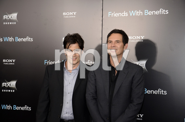 """""""Friends with Benefits"""" Premiere Keith Merryman, David A. Newman7-18-2011 / Ziegfeld Theater / New York NY / Screen Gems / Photo by Eric Reichbaum - Image 24082_00011"""