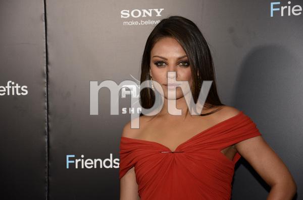 """Friends with Benefits"" Premiere Mila Kunis7-18-2011 / Ziegfeld Theater / New York NY / Screen Gems / Photo by Eric Reichbaum - Image 24082_0157"