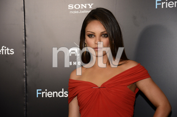 """Friends with Benefits"" Premiere Mila Kunis7-18-2011 / Ziegfeld Theater / New York NY / Screen Gems / Photo by Eric Reichbaum - Image 24082_0158"