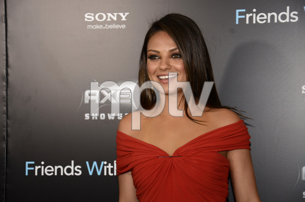 """Friends with Benefits"" Premiere Mila Kunis7-18-2011 / Ziegfeld Theater / New York NY / Screen Gems / Photo by Eric Reichbaum - Image 24082_0159"