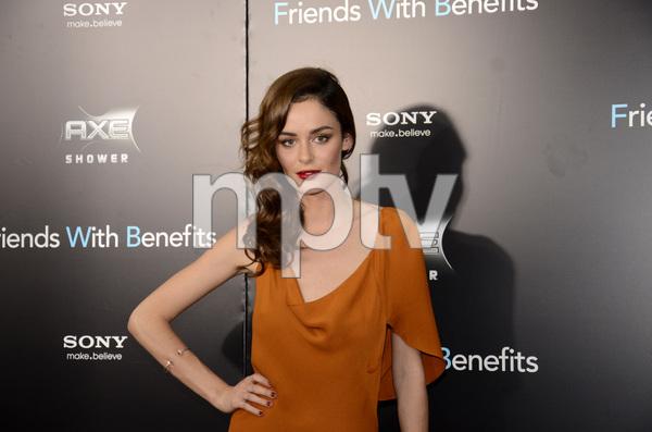 """Friends with Benefits"" Premiere Nicole Trunfio 7-18-2011 / Ziegfeld Theater / New York NY / Screen Gems / Photo by Eric Reichbaum - Image 24082_0162"