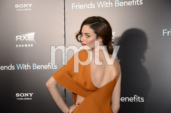 """Friends with Benefits"" Premiere Nicole Trunfio 7-18-2011 / Ziegfeld Theater / New York NY / Screen Gems / Photo by Eric Reichbaum - Image 24082_0164"