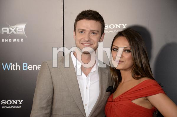"""Friends with Benefits"" Premiere Justin Timberlake, Mila Kunis7-18-2011 / Ziegfeld Theater / New York NY / Screen Gems / Photo by Eric Reichbaum - Image 24082_0166"