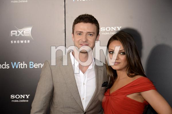 """Friends with Benefits"" Premiere Justin Timberlake, Mila Kunis7-18-2011 / Ziegfeld Theater / New York NY / Screen Gems / Photo by Eric Reichbaum - Image 24082_0167"