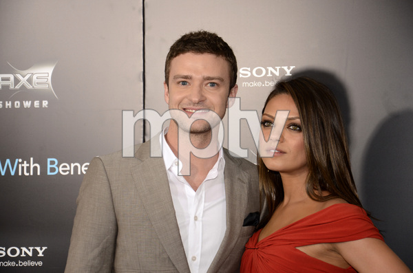 """Friends with Benefits"" Premiere Justin Timberlake, Mila Kunis7-18-2011 / Ziegfeld Theater / New York NY / Screen Gems / Photo by Eric Reichbaum - Image 24082_0169"