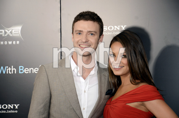 """Friends with Benefits"" Premiere Justin Timberlake, Mila Kunis7-18-2011 / Ziegfeld Theater / New York NY / Screen Gems / Photo by Eric Reichbaum - Image 24082_0170"