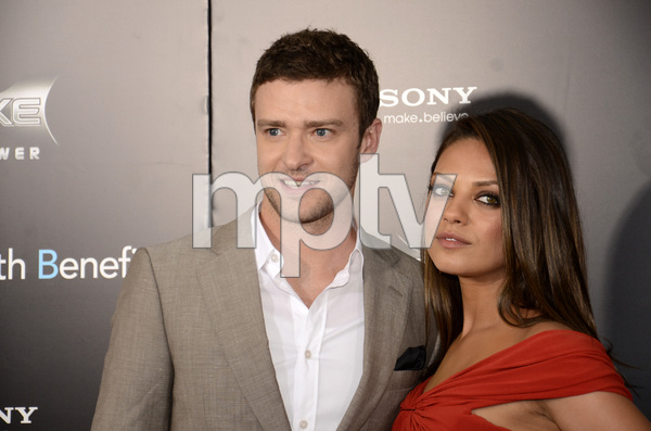 """Friends with Benefits"" Premiere Justin Timberlake, Mila Kunis7-18-2011 / Ziegfeld Theater / New York NY / Screen Gems / Photo by Eric Reichbaum - Image 24082_0171"