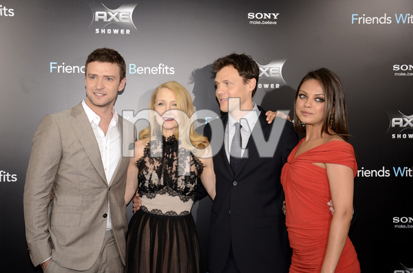 """""""Friends with Benefits"""" Premiere Justin Timberlake, Patricia Clarkson, Will Gluck, Mila Kunis7-18-2011 / Ziegfeld Theater / New York NY / Screen Gems / Photo by Eric Reichbaum - Image 24082_0175"""