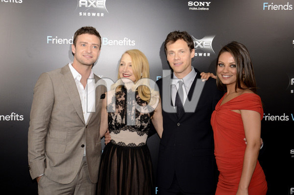 """""""Friends with Benefits"""" Premiere Justin Timberlake, Patricia Clarkson, Will Gluck, Mila Kunis7-18-2011 / Ziegfeld Theater / New York NY / Screen Gems / Photo by Eric Reichbaum - Image 24082_0176"""
