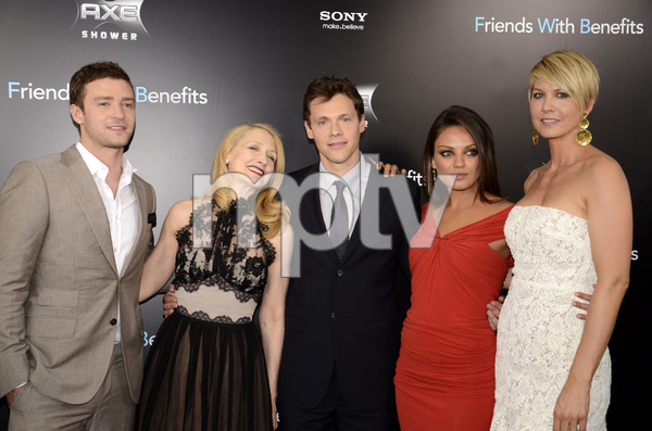 """Friends with Benefits"" Premiere Justin Timberlake, Patricia Clarkson, Will Gluck, Mila Kunis, Jenna Elfman7-18-2011 / Ziegfeld Theater / New York NY / Screen Gems / Photo by Eric Reichbaum - Image 24082_0180"