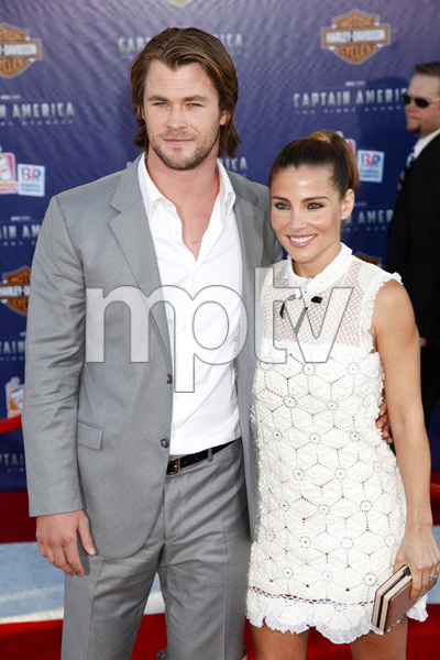 """Captain America: The First Avenger"" Premiere Chris Hemsworth, Elsa Pataky7-19-2011 / El Capitan Theater / Hollywood CA / Paramount Pictures / Photo by Imeh Akpanudosen - Image 24083_0034"