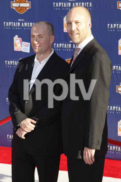 """Captain America: The First Avenger"" Premiere Christopher Markus, Stephen McFeely7-19-2011 / El Capitan Theater / Hollywood CA / Paramount Pictures / Photo by Imeh Akpanudosen - Image 24083_0145"