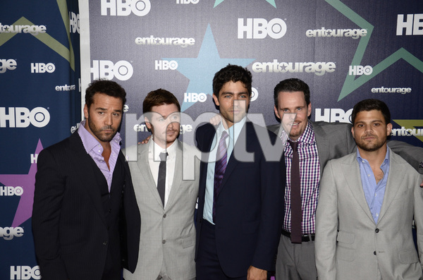 """Entourage"" Premiere Jeremy Piven, Kevin Connolly, Adrian Grenier, Kevin Dillon and Jerry Ferrara7-19-2011 / The Beacon / New York NY / HBO / Photo by Eric Reichbaum - Image 24084_0004"