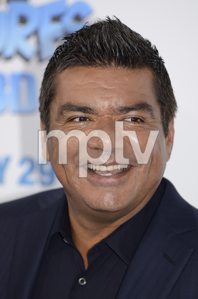 """""""The Smurfs"""" Premiere George Lopez7-24-2011 / Ziegfeld Theater / New York NY / Columbia Pictures / Photo by Eric Reichbaum - Image 24085_0003"""