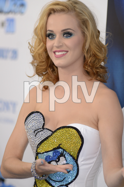 """""""The Smurfs"""" Premiere Katy Perry7-24-2011 / Ziegfeld Theater / New York NY / Columbia Pictures / Photo by Eric Reichbaum - Image 24085_0008"""