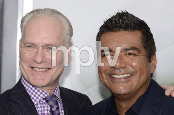 """""""The Smurfs"""" Premiere Tim Gunn, George Lopez7-24-2011 / Ziegfeld Theater / New York NY / Columbia Pictures / Photo by Eric Reichbaum - Image 24085_0014"""