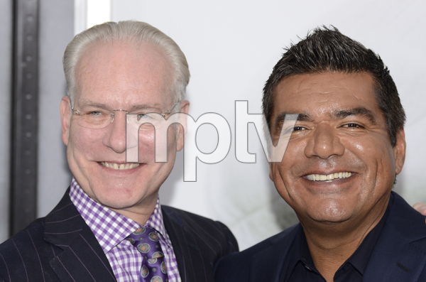 """""""The Smurfs"""" Premiere Tim Gunn, George Lopez7-24-2011 / Ziegfeld Theater / New York NY / Columbia Pictures / Photo by Eric Reichbaum - Image 24085_0015"""