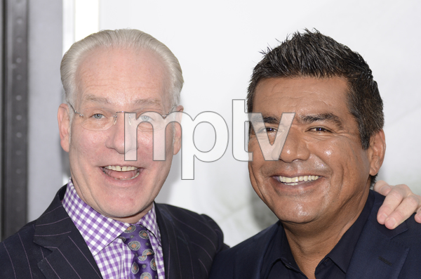 """The Smurfs"" Premiere Tim Gunn, George Lopez7-24-2011 / Ziegfeld Theater / New York NY / Columbia Pictures / Photo by Eric Reichbaum - Image 24085_0018"