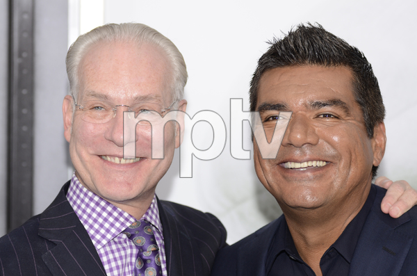 """The Smurfs"" Premiere Tim Gunn, George Lopez7-24-2011 / Ziegfeld Theater / New York NY / Columbia Pictures / Photo by Eric Reichbaum - Image 24085_0019"
