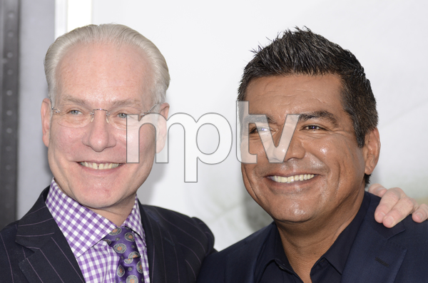 """""""The Smurfs"""" Premiere Tim Gunn, George Lopez7-24-2011 / Ziegfeld Theater / New York NY / Columbia Pictures / Photo by Eric Reichbaum - Image 24085_0020"""