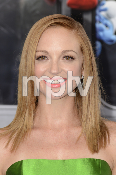 """The Smurfs"" Premiere Jayma Mays7-24-2011 / Ziegfeld Theater / New York NY / Columbia Pictures / Photo by Eric Reichbaum - Image 24085_0021"