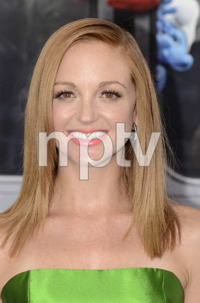 """""""The Smurfs"""" Premiere Jayma Mays7-24-2011 / Ziegfeld Theater / New York NY / Columbia Pictures / Photo by Eric Reichbaum - Image 24085_0022"""