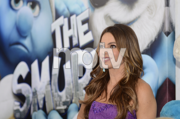 """The Smurfs"" Premiere Sofia Vergara7-24-2011 / Ziegfeld Theater / New York NY / Columbia Pictures / Photo by Eric Reichbaum - Image 24085_0039"