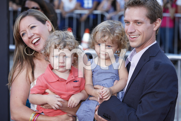"""""""The Change-Up"""" Premiere Luke Bain, Lauren Bain with parents Missy and Matthew Bain 8-1-2011 / Village Theater / Westwood CA / Universal Pictures / Photo by Imeh Akpanudosen - Image 24087_0013"""