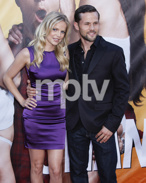 """""""The Change-Up"""" Premiere Mircea Monroe, George Berry8-1-2011 / Village Theater / Westwood CA / Universal Pictures / Photo by Imeh Akpanudosen - Image 24087_0036"""